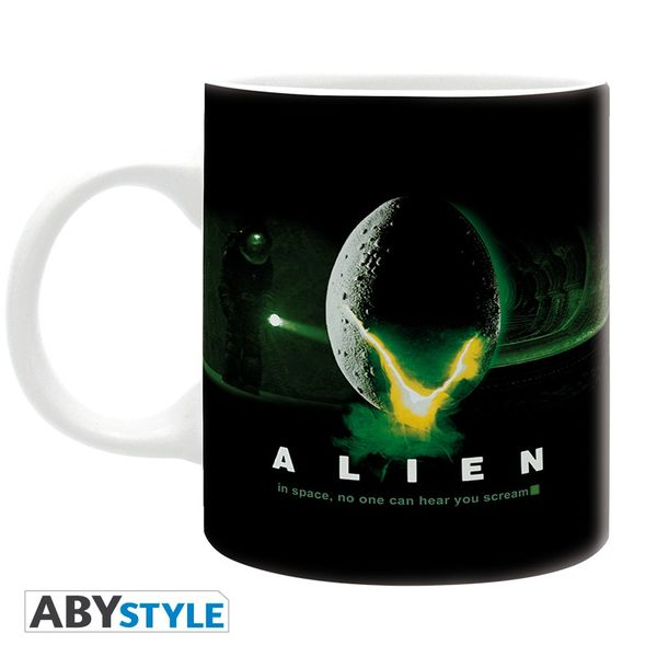 Taza In Space No One Can Hear You Scream Alien