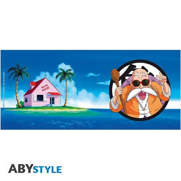 Taza Master Roshi y Kame House Dragon Ball 320ml
