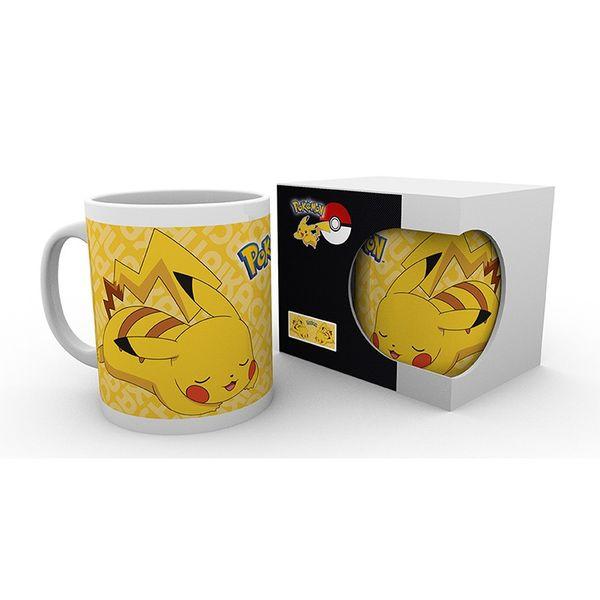 Taza Pikachu Descansando Pokémon 320 ml