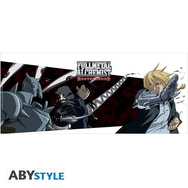 Taza Fullmetal Alchemist Heroes & Pride 320 ml