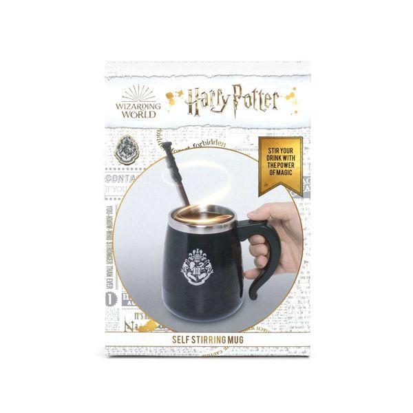 Taza Harry Potter Varita Mágica Se Remueve Sola 450 ml