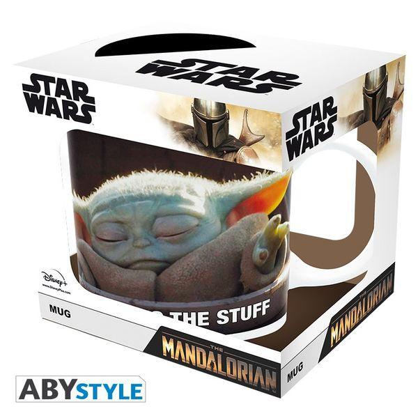 Taza The Mandalorian Grogu Meme Star Wars 320ml
