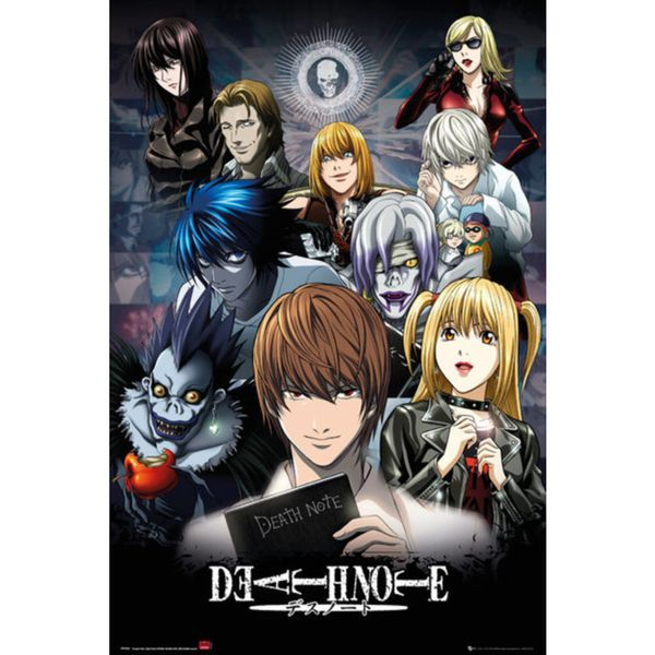 Poster Death Note Collage 91,5 x 61 cms