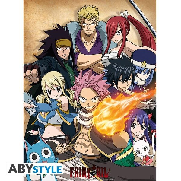 Poster Guild Fairy Tail 52 x 38 cms