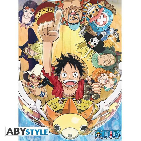 New World Poster One Piece 52 x 38 cms