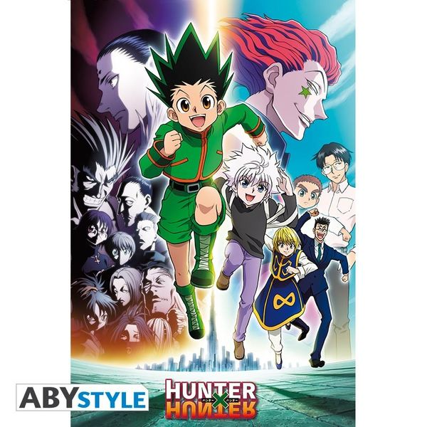 Poster Phantom Troupe Hunter X Hunter 91.5 x 61 cms