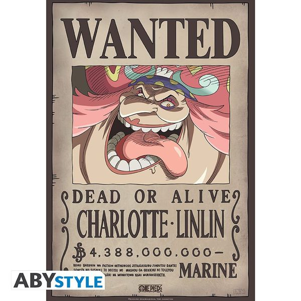 Poster Wanted Big Mom One Piece 52 x 38 cms