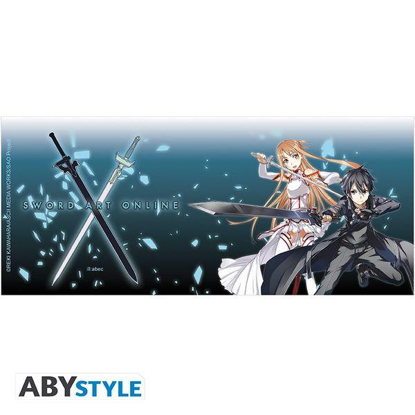 Taza Asuna & Kirito Sword Art Online SAO 320ml