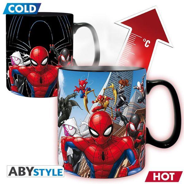 Taza Termica Spiderman Multiverse Marvel 460 ml