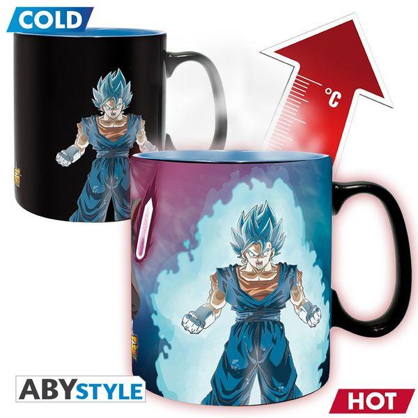 Vegetto SSGSS & Trunks SSJ Heat Change Mug Dragon Ball Super