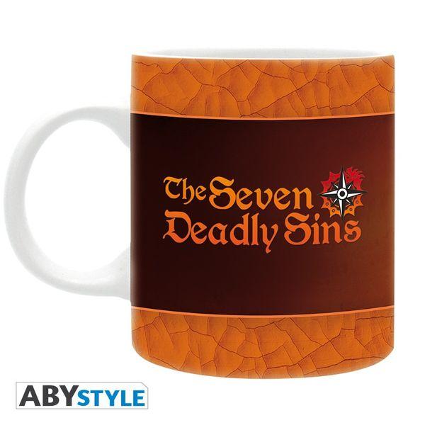 Taza 7 Pecados Capitales The Seven Deadly Sins 320ml