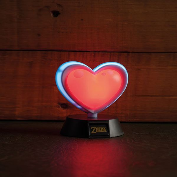 3D lamp heart container The Legend of Zelda
