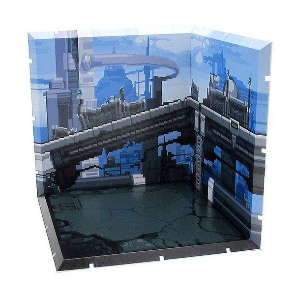 Diorama para Nendoroid y Figma Future Town (Pixel Art)
