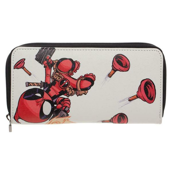 Cartera Deadpool Chibi Plunger Marvel Comics