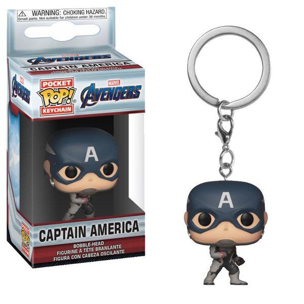 Llavero Capitán América Avengers Endgame POP!