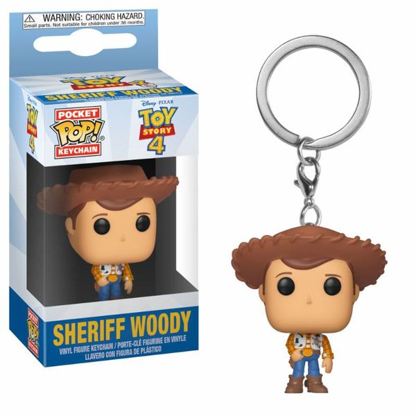 Llavero Woody Toy Story 4 POP!