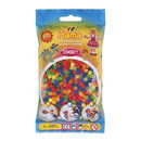 Bolsa de Hama midi mix de color neon de 1000 piezas Nº 207-51