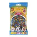Bolsa de Hama midi mix de color translucido de 1000 piezas Nº 207-53