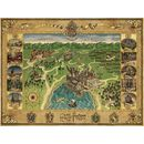 Puzzle 1500 Piezas Mapa Hogwarts Harry Potter