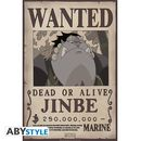 Poster Jinbei Wanted One Piece 52 x 35 cms