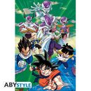 Poster Dragon Ball Z Freezer Group Arc 91,5 x 61 cms