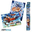 Poster Goku Ultra Instinct Dragon Ball Super Set 52 x 38 cms