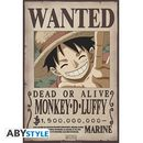 Poster One Piece Luffy Wanted 91,5 x 61 cms
