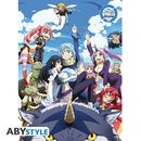 Poster That Time I Got Reincarnated As A Slime Grupo 52 x 38 cms