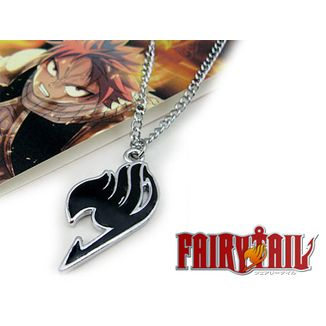 Fairy Tail Necklace Logo Black