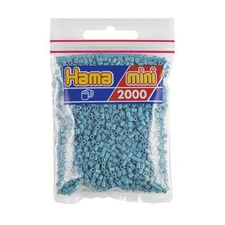 Bolsa de Hama Mini turquesa de 2000 piezas Nº 501-31