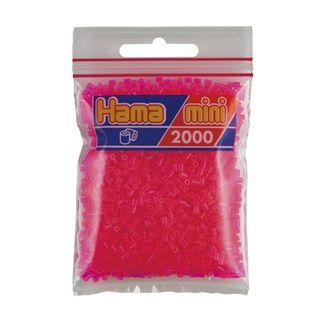Bolsa de Hama Mini fucsia de 2000 piezas Nº 501-32