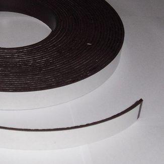 Adhesive magnetic sheet 15mm x 2mm - 10 CM