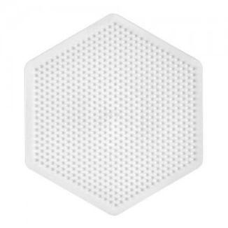 Plate / Pegboard Hama midi large hexagonal