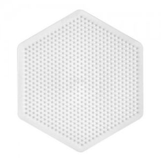 Plate / Pegboard Hama mini small hexagonal