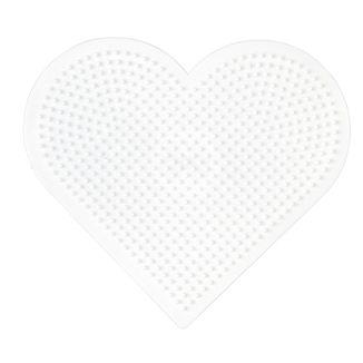 Placa / Pegboard Corazón grande para Hama Midi