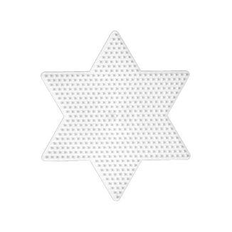 Placa / Pegboard estrella para Hama Midi