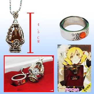 Set Necklace & Ring Mami Tomoe
