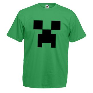 Camiseta Minecraft - Creeper