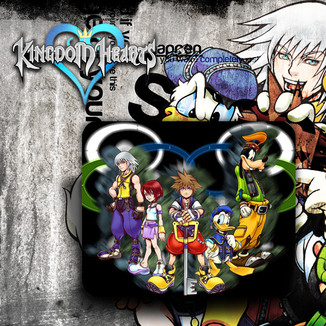 Alfombrilla Ratón Kingdom Hearts #1