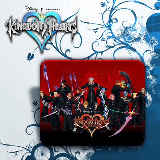 Alfombrilla Ratón Kingdom Hearts #2