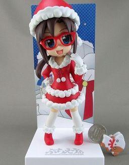 Figura Evangelion - Mari Christmas Petit School Eva