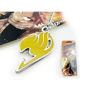 Fairy Tail Necklace - yellow emblem