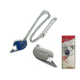 Fairy Tail Necklace Logo Blue