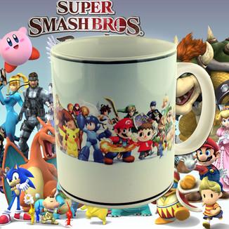 Taza  Super Smash Bros.
