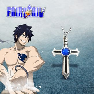 Fairy Tail Necklace - Grey #02