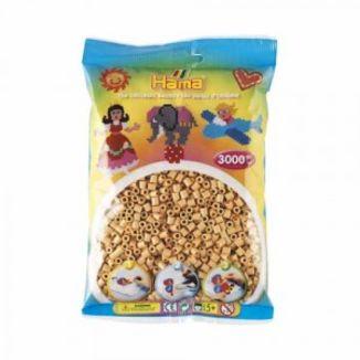 Bolsa de Hama midi beige de 3000 piezas