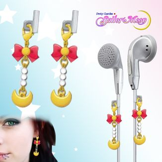 Sailor Moon Earphone Charms Gashapon - Sailor Moon