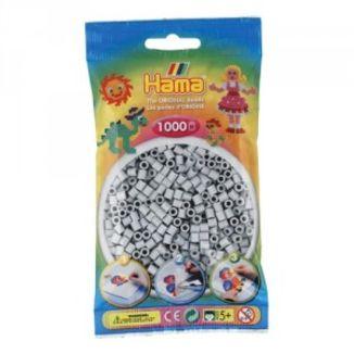 Hama midi gris claro de 1000 piezas 207-70