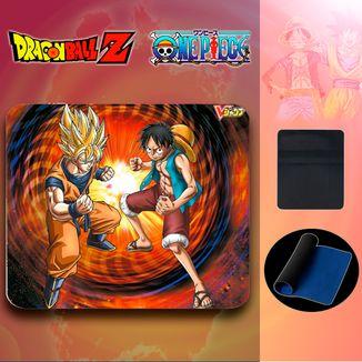 Alfombrilla Ratón Goku Vs Luffy
