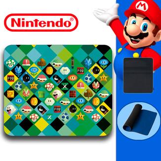 Alfombrilla Ratón - Nintendo - Rombos